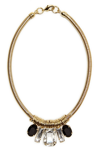 Textural Jeweled Necklace