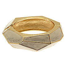 Geo Inlay Bangle