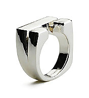 Sculptural Ring<br>Sterling Silver