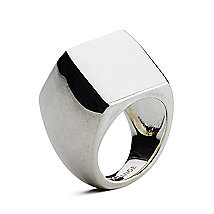Chunky Ring<br>Sterling Silver