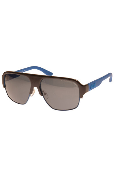 Men's Colorblocked Pilot Sunglasses