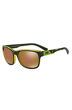 Men's Two-Tone Logo Sunglasses
