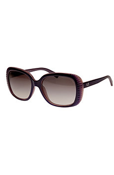 Scalloped Square Sunglasses