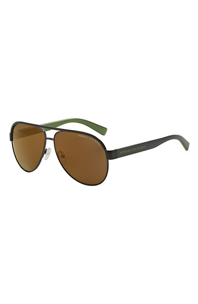 Colored Logo Aviator Sunglasses