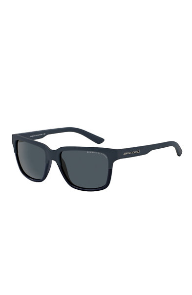 Unisex Logo Square Sunglasses