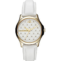 Embellished Quilted Watch