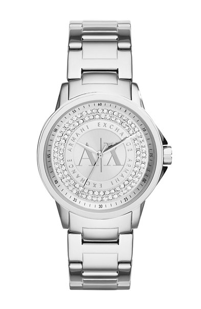 Silver Pave Watch