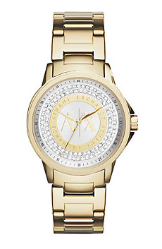 Gold Pave Watch