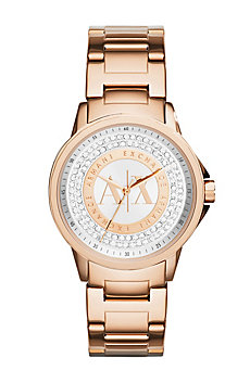 Rose Gold Pave Watch