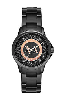 Black Pave Watch