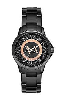 Black Pave Watch