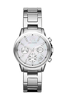 Silver Lady Banks Watch