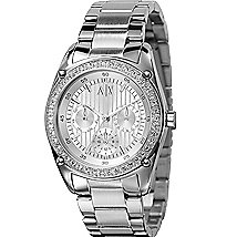 Stainless Steel Boyfriend Watch