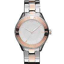 Two Tone Boyfriend Watch