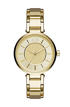 Gold Simple Watch