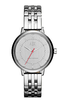 Women's Silver Monochromatic Watch