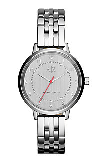 Women's Silver Monochromatic Watch