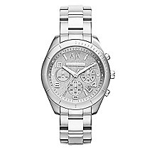 Tonal Silver Bracelet Watch