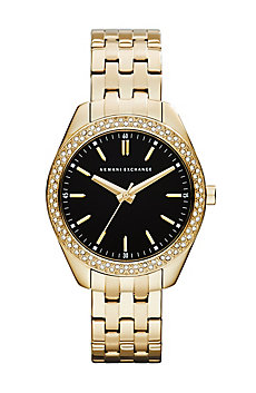 Gold Crystal Sarena Watch