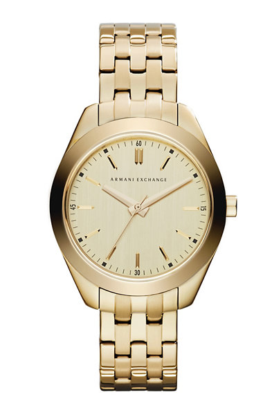 Gold Dial Watch