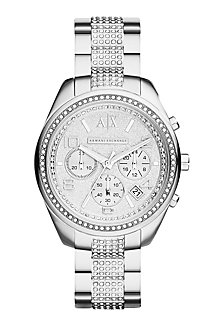 Pave Bracelet Watch