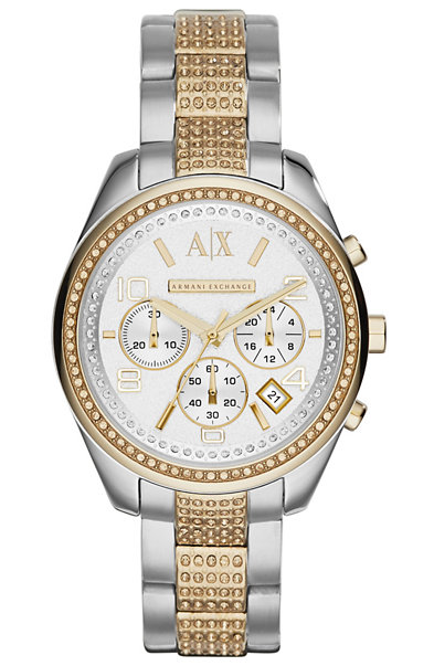 Gold Detail Women's Watch