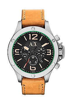 Light Brown Leather Watch
