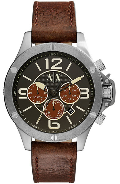 Leather Wellworn Watch