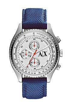 Textured Nylon Chronograph Watch