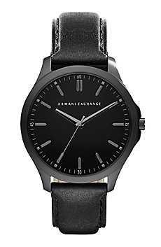 Leather Hampton Watch