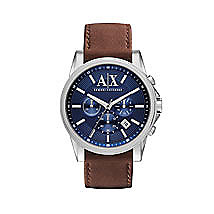 Banks Leather Strap Watch