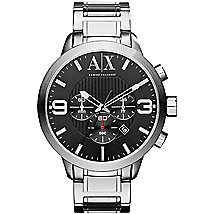 A|X Oversized Chronograph Bracelet Watch