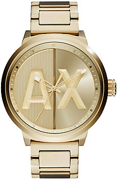 A|X Goldtone Watch