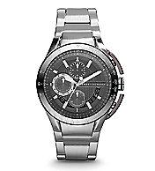 Round Chronograph Bracelet Watch