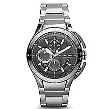 Round Chronograph Bracelet Watch