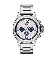 A|X Blue Chrono Bracelet Watch