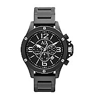 A|X Black Chrono Bracelet Watch