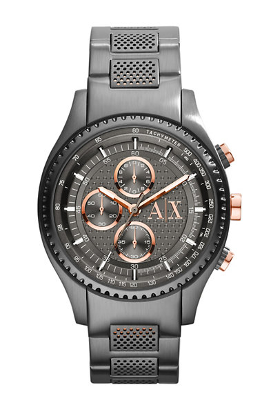 Rose Gunmetal Driver Watch