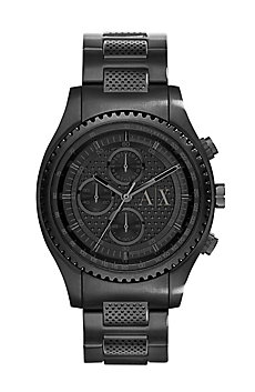Perforated Steel Watch