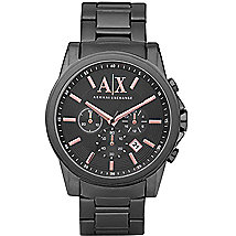 Gunmetal Chrono Watch
