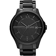 Black Steel Watch