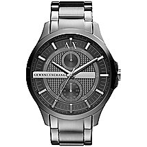Grey Chronograph Bracelet Watch