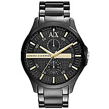 Black A|X Banded Bracelet Watch