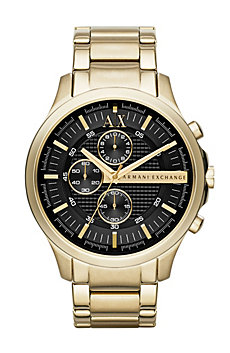 Large Gold Chronograph Watch