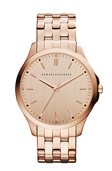 Rose Gold Hampton Watch