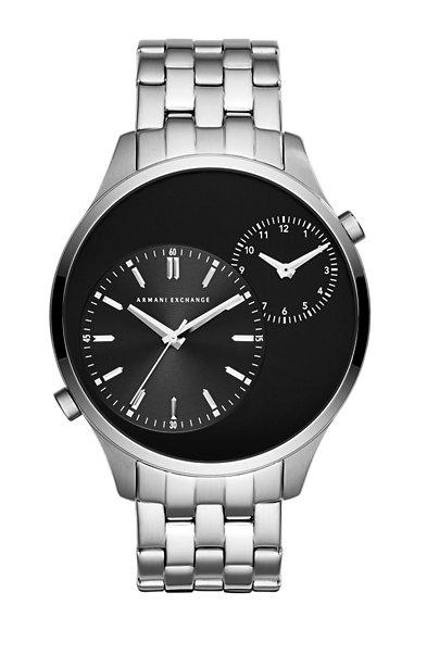 Sleek Silver Men's Watch