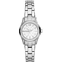 Quilted Silver Bracelet Watch