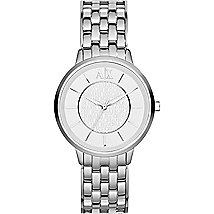 Silver Boyfriend Watch