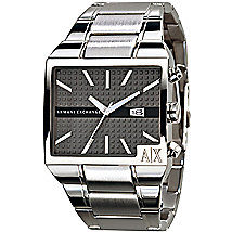 Gunmetal Stainless Steel Watch