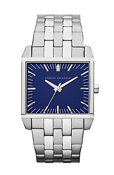 Blue Dial Silver Tenno Watch